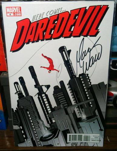 comic daredevil irredeemable autografiados por mark waid