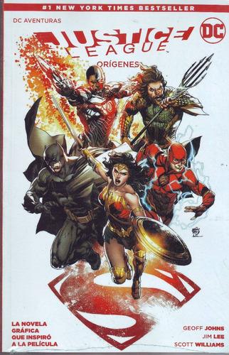 comic dc aventuras justice league origenes nuevo sellado