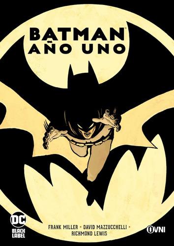cómic, dc,  batman: año uno ovni press
