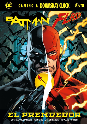 cómic, dc, batman / flash: el prendedor ovni press
