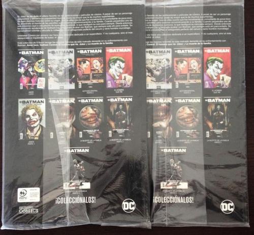 comic dc: batman - joker. 2 tomos, historia completa.