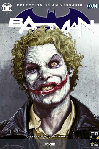 cómic, dc, batman: joker ovni press