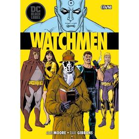 Cómic, Dc Black Label, Watchmen Ovni Press