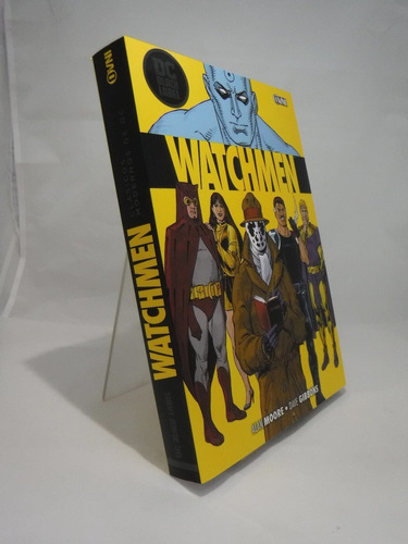 cómic, dc black label, watchmen ovni press
