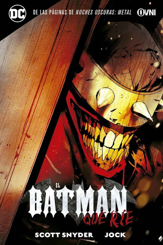 cómic, dc, el batman que ríe ovni press
