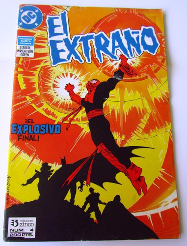 comic dc: el extraño, #4. ed. zinco