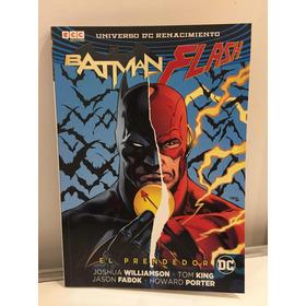 Cómic, Dc, El Prendedor. Batman, Flash. Ovni Press