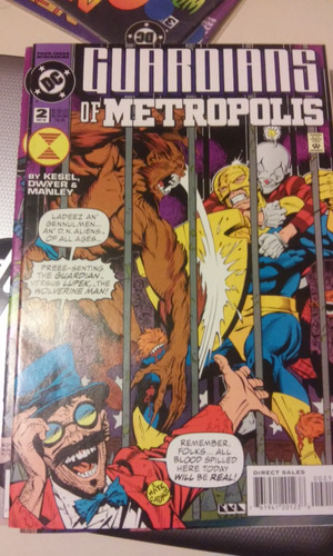 comic dc en ingles dc guardians of metropolis no.2