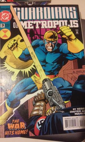 comic dc en ingles dc guardians of metropolis no.3