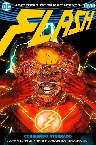 cómic, dc, flash vol. 4: corriendo aterrado ovni press