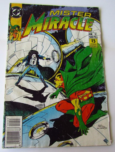 comic dc: mister miracle, #3. ed. zinco