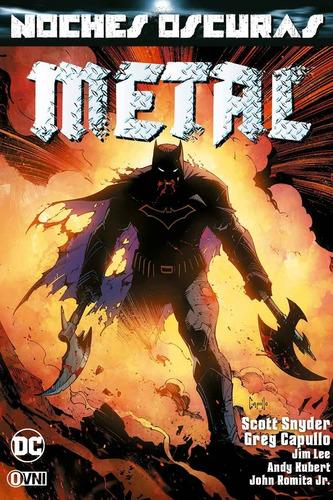 cómic, dc, noches oscuras: metal vol. 1 ovni press