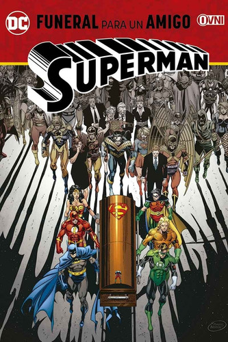 cómic, dc, superman: funeral para un amigo ovni press