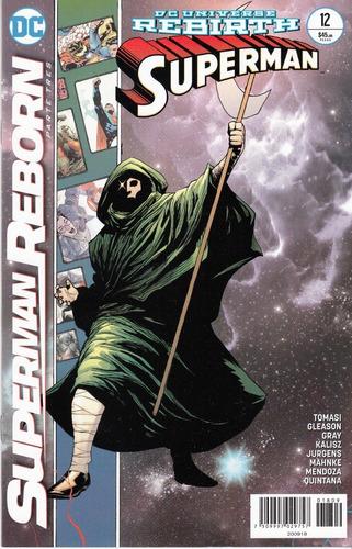 comic dc universe rebirth superman # 12 superman reborn