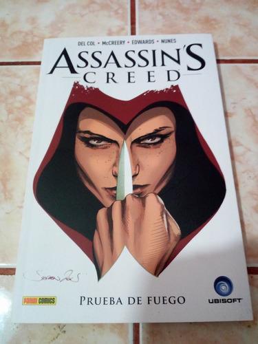 comic de assasins creed - prueba de fuego (libro) en español