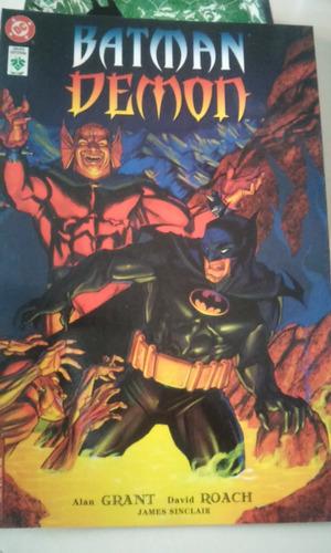 comic de coleccion dc batman demon