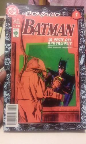 comic de coleccion dc batman no. 242 contagio 1