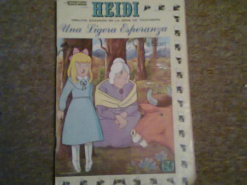 comic de heidi año 1979 novedades editores