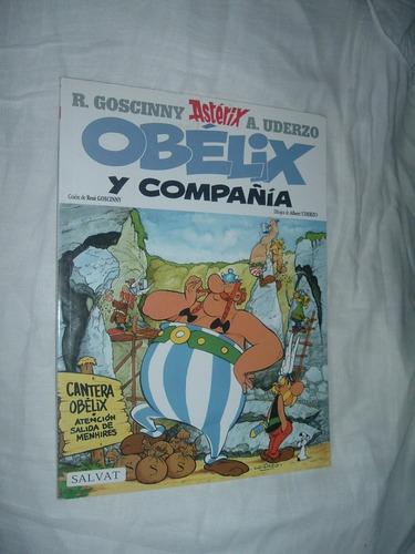 comic de obelix y compañía y asterix en belgica