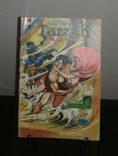 comic de tarzan año 1976