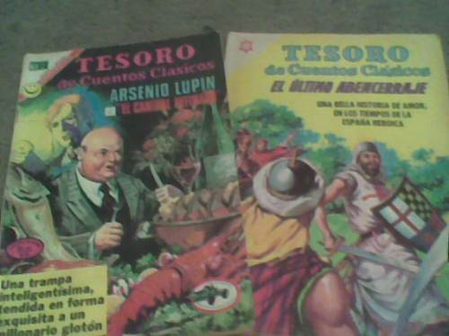 comic de tesoro cuentos clasicos
