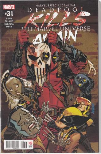 cómic deadpool kills universo marvel again español 5 tomos