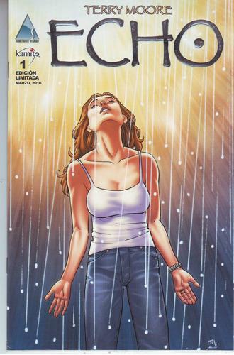 comic echo # 1 terry moore edicion limitada español kamite