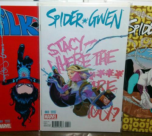 comic edge spider-verse #2 primera aparición spider gwen
