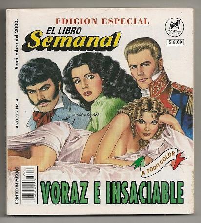 comic el libro semanal edición especial año 2000