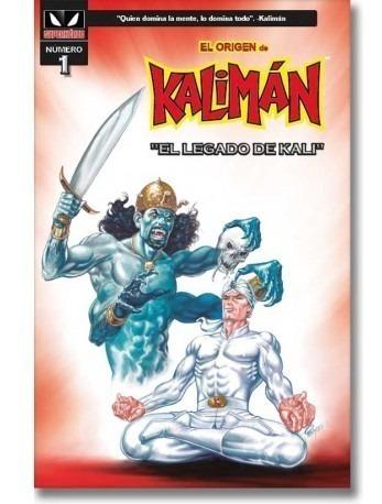 comic el origen de kaliman # 1 el legado de kali sellado