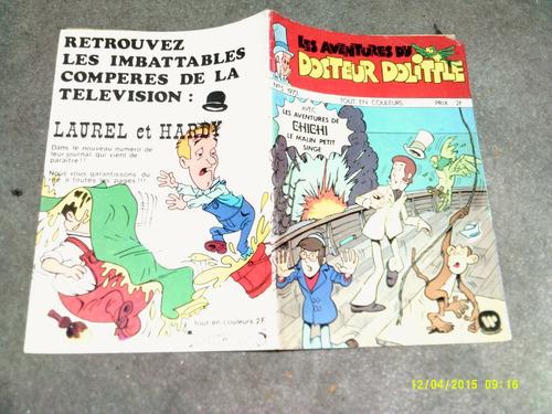 comic en frances doctor dolittle 1973