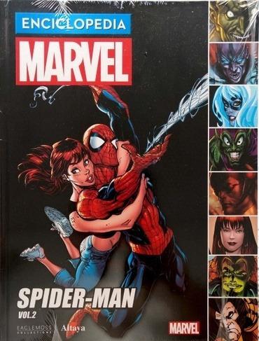 comic enciclopedia marvel  # 13 spiderman vol.2 res vari