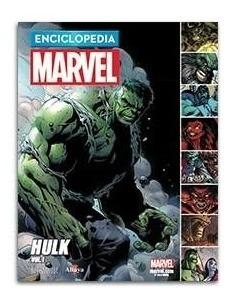 comic enciclopedia marvel 2017 # 07 hulk - autores varios