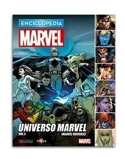 comic enciclopedia marvel  # 80 universo marvel vol. 05