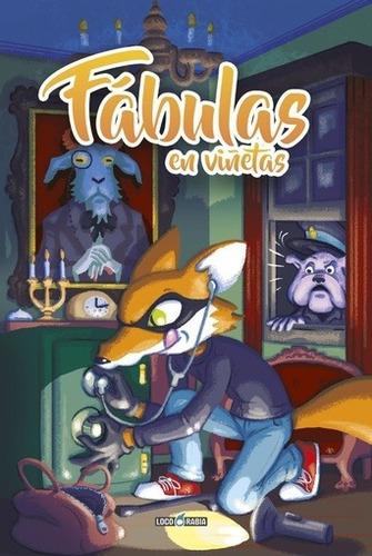 comic fabulas en viñetas - autores varios