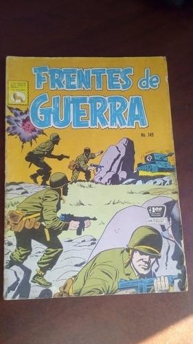 comic frentes de guerra no.149 editorial la prensa año-1966