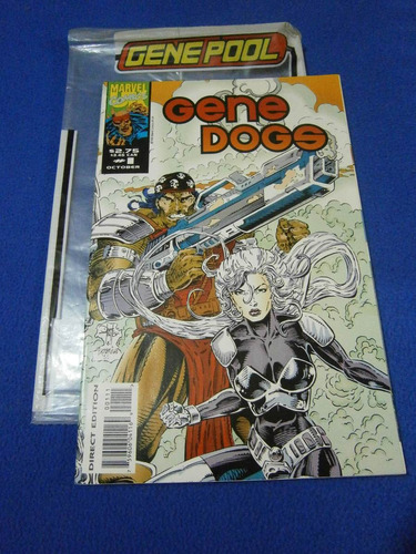 comic gene dogs #1