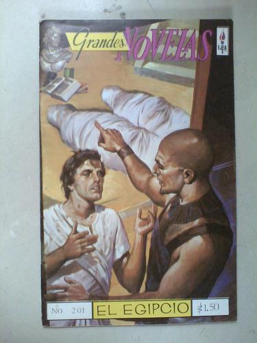 comic grandes novelas el egipcio ejea lote de 3 revistas