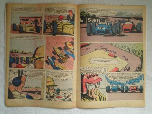 comic historieta ruta 44 nº18 año 1 1966 edit zig zag chile