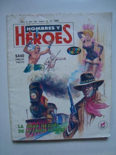 comic hombres y heroes la gran hazaña de union pacific 83