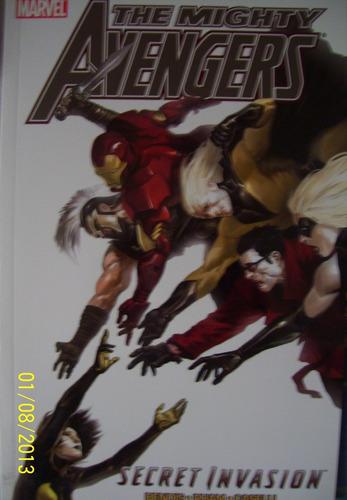 comic juguete the mighty avengers secret invasion tomo 2