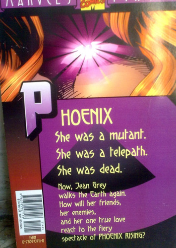 comic juguete x:men phoenix rising