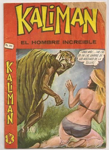 comic kalimán el hombre increíble # 399 de 1972