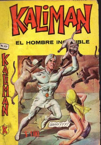 cómic kalimán no. 409,  septiembre,1973, 32 p. 16 x 23 cm.