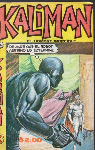 cómic kalimán no. 666, septiembre 1978, 32 p. 11.5 x 18 cm.