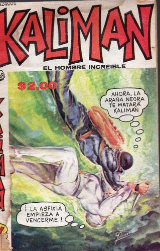 cómic kalimán no. 669, septiembre1978, 32 p. 11.5 x 18 cm.