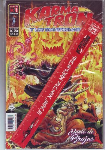 comic karmatron # 20 duelo de brujas regla gratis nuevos