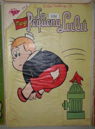 comic la pequeña lulú/novaro,97,108,129,132,149,182/10000c/u