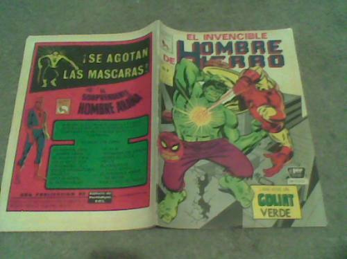 comic la prensa el hombre de hierro(iron man) no.9