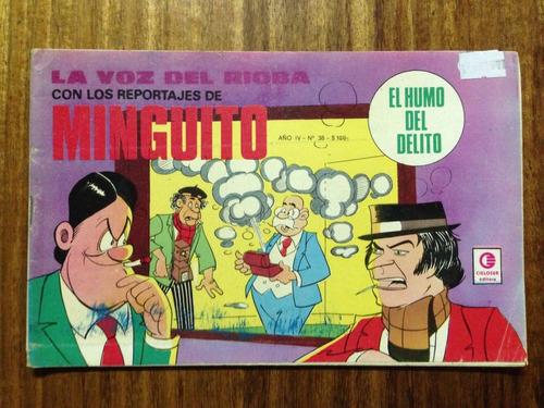 comic la voz del rioba  nº 38 argentino